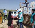 Tarım işçilerine gıda yardımı