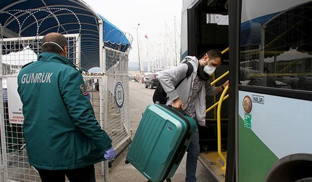 Türkiye'ye gelen kuru yük gemisindeki işçiler karantinaya alındı