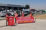 Şanlıurfa'da işçilerin eylemi sürüyor