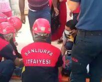 Urfa'da işçi göçük altında kaldı