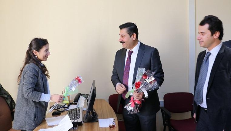 İŞKUR il müdüründen kadınlar günü kutlaması