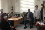 Mehmet Gülüm'den şiddete uğrayan doktora ziyaret