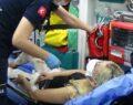 İntihar eden kadını bir genç kurtardı