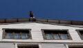 Çatıda intihar girişimi