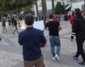 İran protestolarına destek eyleminde 2 kişiye gözaltı