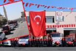 Şanlıurfa'da İtfaiye Haftasında kortejli kutlama