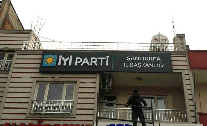 İYİ Parti Urfa İl Binası faaliyete geçti