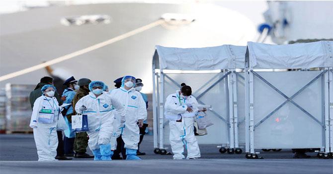 Japonya'daki gemide panik artıyor, vaka sayısı 136 oldu