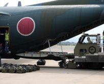Japonya askerleri yangın için Avusturalya'da
