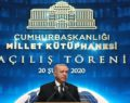 Cumhurbaşkanlığı Külliyesi'ndeki Millet Kütüphanesi açıldı