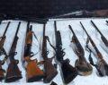Silah kaçakçılığı operasyonu: 45 gözaltı