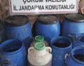 2 bin 653 litre kaçak içki ele geçirildi