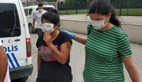 Uyuşturucu ticareti yapan kadın gözaltına alındı