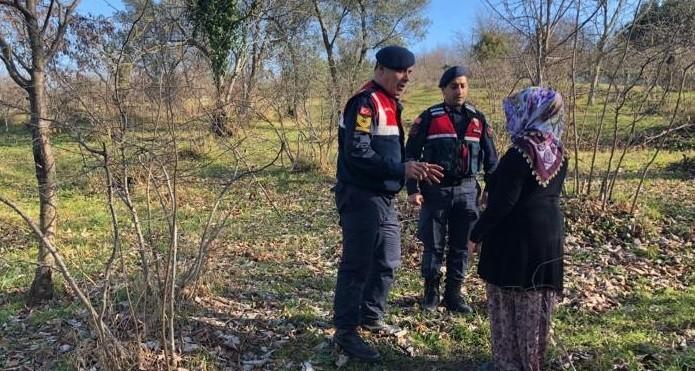 Üç gündür kayıp olan kadın odunlukta bulundu