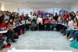 Kadın danışma merkezi öğrencilerin yanında