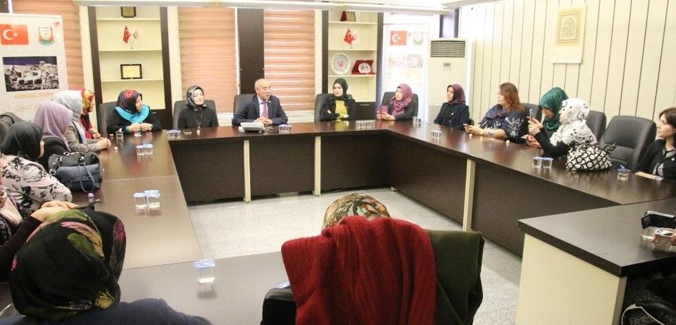Belçika'dan gelen UETD üyesi kadınlardan Büyükşehir'e ziyaret