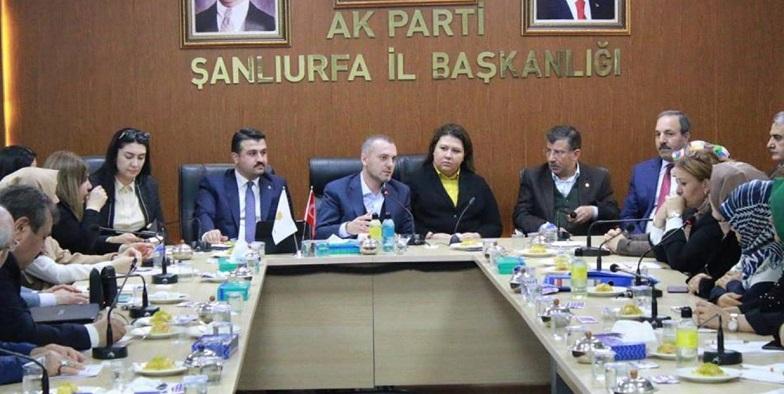 AK Parti Genel Başkan Yardımcısı Kandemir, Şanlıurfa'da