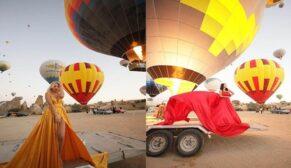 Yabancı turistlerin Kapadokya aşkı