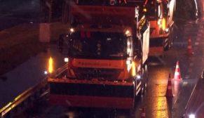 İstanbul'da kar yağışı etkisini göstermeye başladı