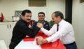 Bilek Güreşi Federasyonu'ndan Kubat'a ziyaret