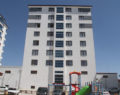 Yedi katlı apartman karantinaya alındı
