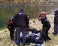 Kayıp sürücü 4 gündür nehirde aranıyor