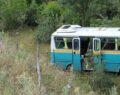 İşçi minibüsü şarampole uçtu: 13 yaralı