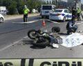 Kamyon ile motosiklet çarpıştı: 1 ölü