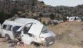 Mevsimlik işçileri taşıyan minibüs devrildi, çok sayıda yaralı var