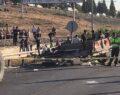 Trafik kazası: 2 ölü, 9 yaralı
