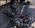 Kamyonet motosiklete çarptı: 2 ölü, 1 yaralı