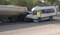 Mühendisleri taşıyan minibüs kaza yaptı: 2 ölü, 11 yaralı