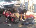 Motosikletler çarpıştı: 3 yaralı