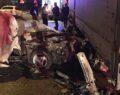 Kokoreç kazaya neden oldu: 1 ölü, 1 ağır yaralı
