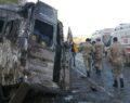 Mültecileri taşıyan minibüs kaza yaptı: Ölü ve yaralılar var