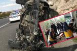 Şanlıurfa'da korkunç kaza: Ölü ve yaralılar var