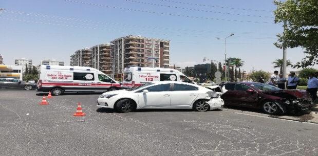 Şanlıurfa'da zincirleme kaza: Çok sayıda yaralı var