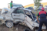 Şanlıurfa'da minibüs ile otomobil çarpıştı