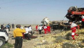 Korkunç kazada 12 kişi hayatını kaybetti