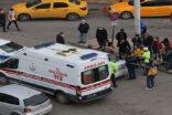 Şanlıurfa'da otomobil ile motosiklet çarpıştı