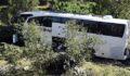 Yolcu otobüsü kaza yaptı: 1 ölü, 24 yaralı