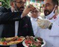 Urfa kebap ve Adana kebap rekabeti tatlıya bağlandı