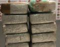 Piyasa değeri yaklaşık 4 milyon lira olan kokain ele geçirildi