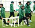 Atiker Konyaspor'da  Bursaspor maçı hazırlıkları başladı