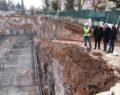 Demirkol, Gençlik ve Kültür Merkezi inşaatını inceledi