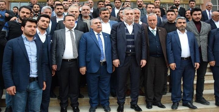 AK Partili vekil Külünk Viranşehir'de