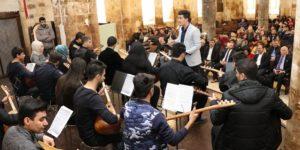 Müziğin başkenti Urfa'da Konservatuar şube müdürlüğü açıldı