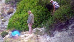 Kayıp olan şahıs uçurum dibinde ölü bulundu