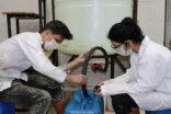 Lise öğrencileri 545 ton dezenfektan üretiyor