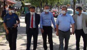 Maske takmayan 4 polise ceza